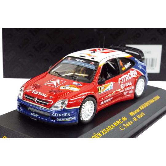 Ixo 1//43 Citroen Xsara WRC Winner Monte Carlo 2004